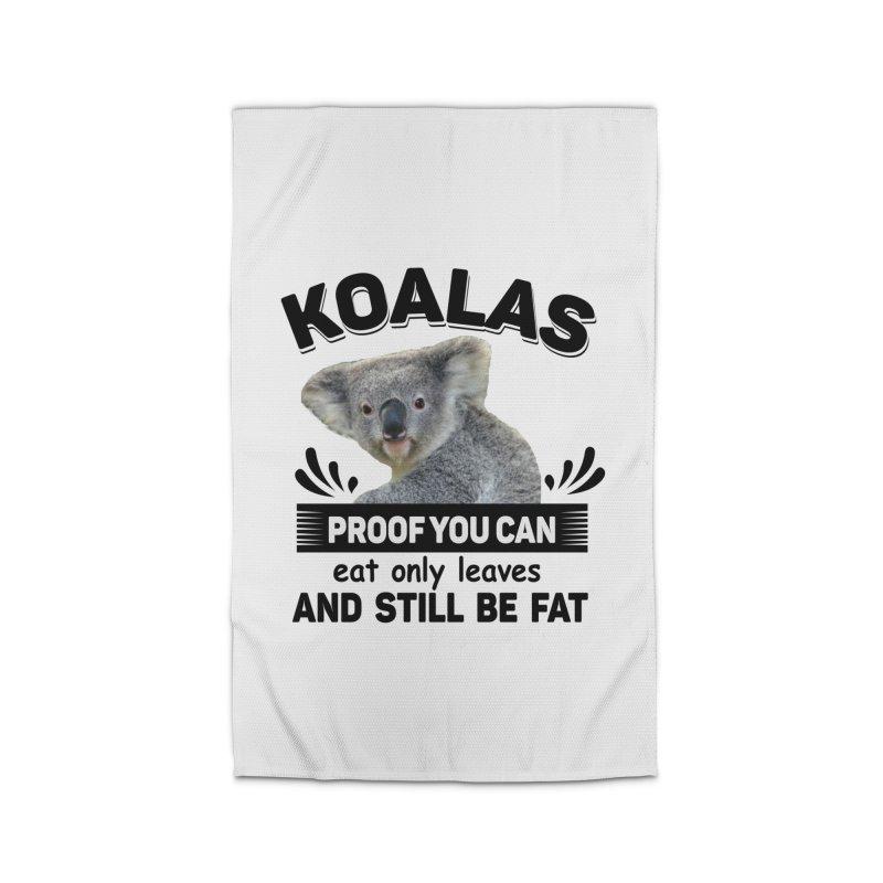 Koala Proof Home Rug by Mini Moo Moo Clothing Company