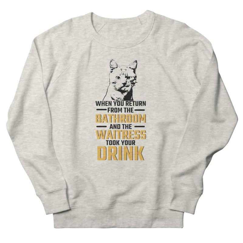 Wheres my Drink Women's Sweatshirt by Mini Moo Moo Clothing Company
