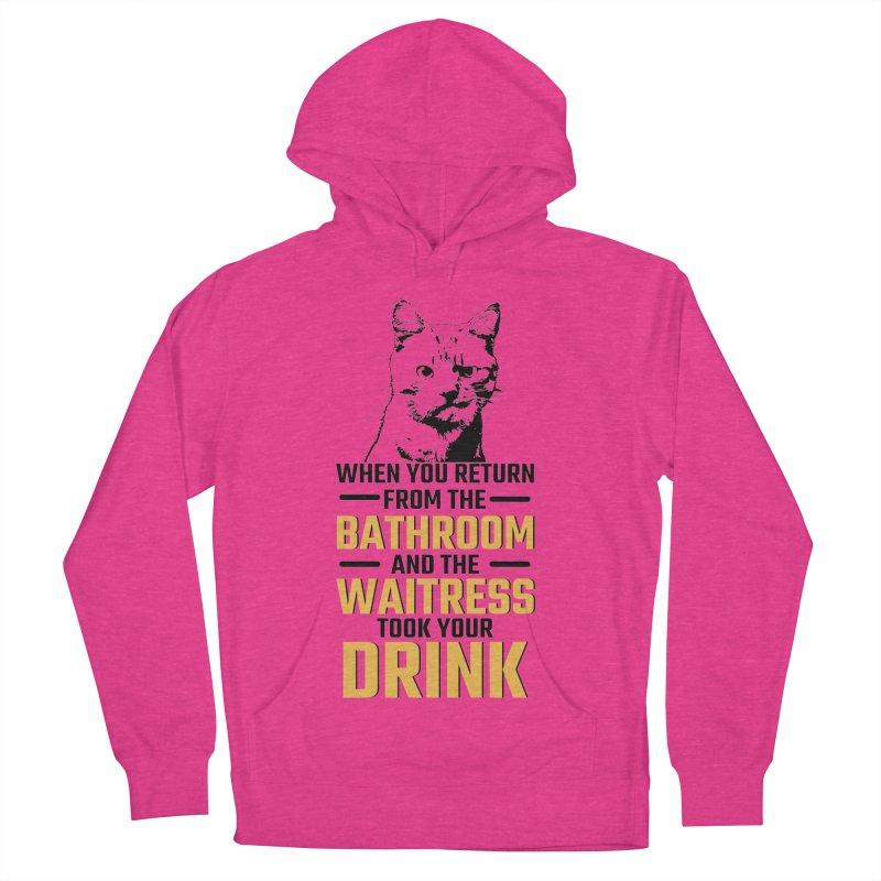 Wheres my Drink Men's Pullover Hoody by Mini Moo Moo Clothing Company