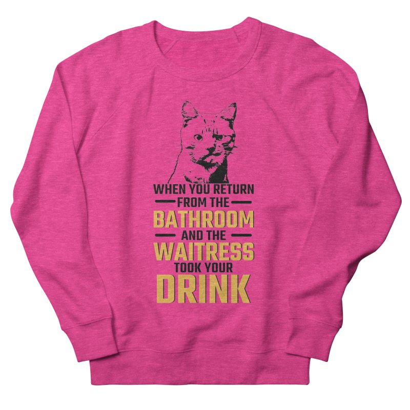Wheres my Drink Men's Sweatshirt by Mini Moo Moo Clothing Company