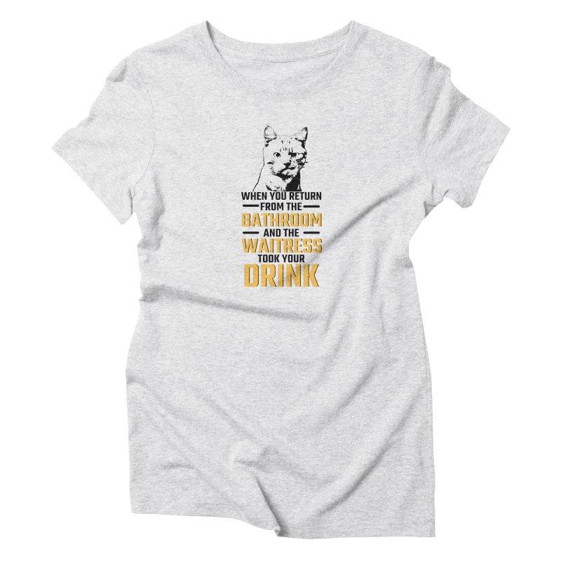 Wheres my Drink Women's T-Shirt by Mini Moo Moo Clothing Company