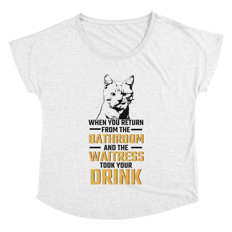 Wheres my Drink Women's Dolman by Mini Moo Moo Clothing Company