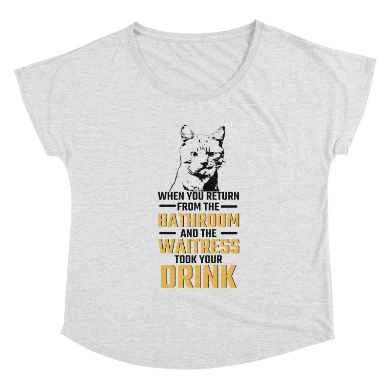 Wheres my Drink Women's Scoop Neck by Mini Moo Moo Clothing Company