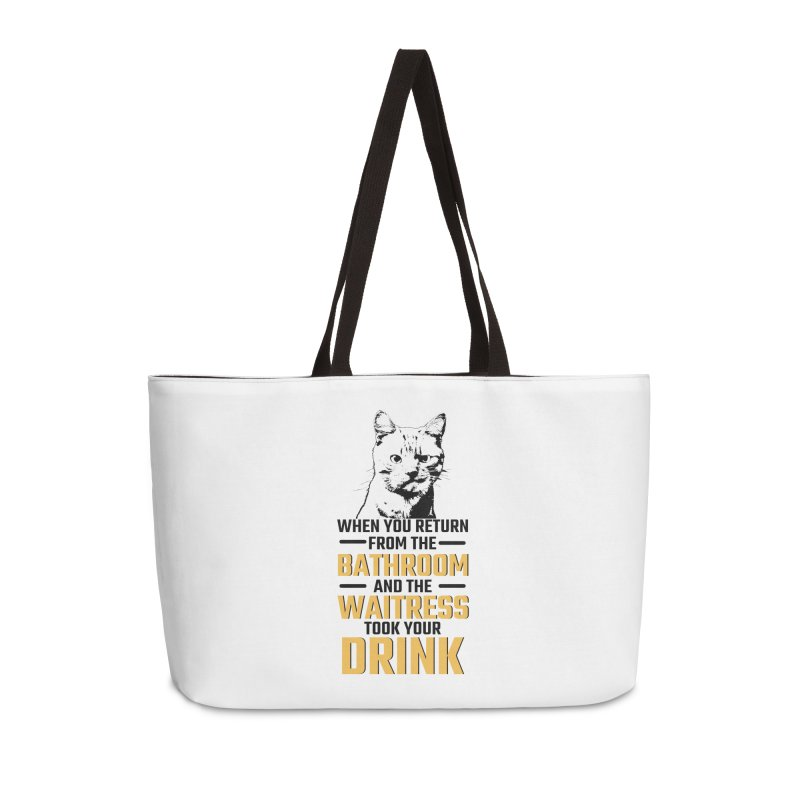 Wheres my Drink Accessories Weekender Bag Bag by Mini Moo Moo Clothing Company