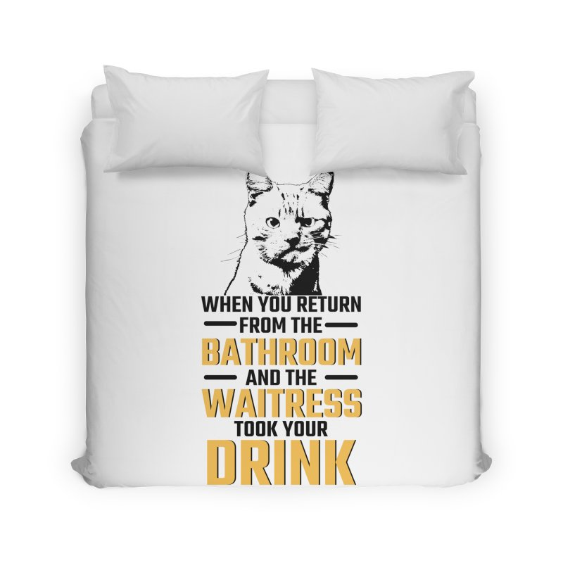 Wheres my Drink Home Duvet by Mini Moo Moo Clothing Company