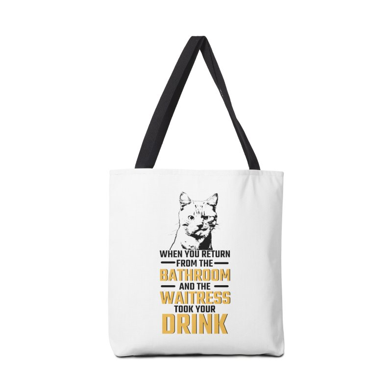 Wheres my Drink Accessories Tote Bag Bag by Mini Moo Moo Clothing Company