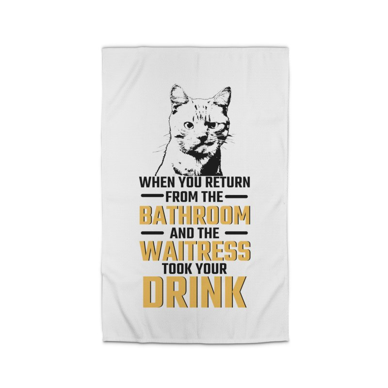 Wheres my Drink Home Rug by Mini Moo Moo Clothing Company