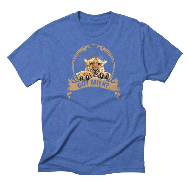 Got Milk Men's T-Shirt by Mini Moo Moo Clothing Company
