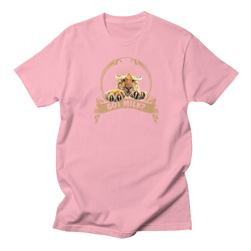 Got Milk Women's Regular Unisex T-Shirt by Mini Moo Moo Clothing Company
