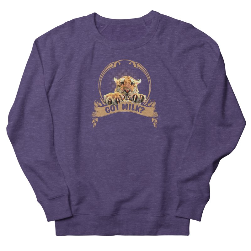 Got Milk Women's Sweatshirt by Mini Moo Moo Clothing Company