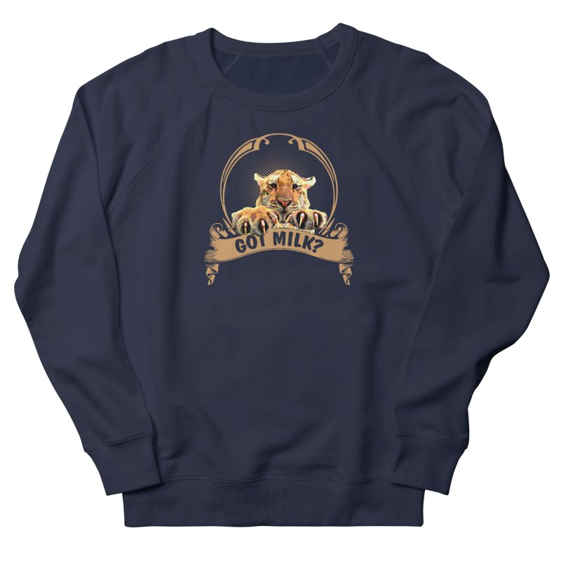 Got Milk Men's Sweatshirt by Mini Moo Moo Clothing Company