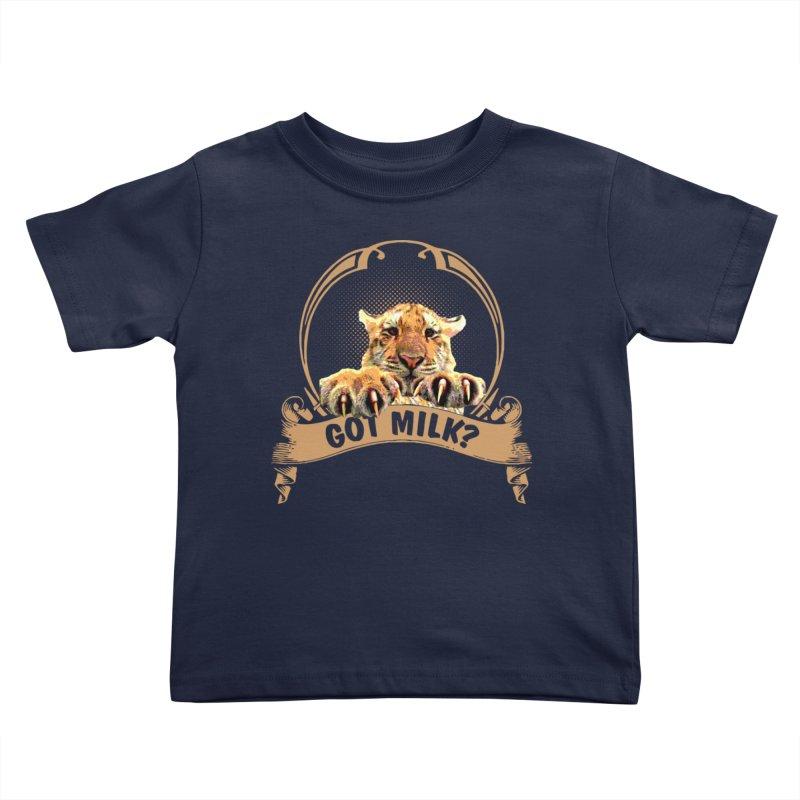Got Milk Kids Toddler T-Shirt by Mini Moo Moo Clothing Company