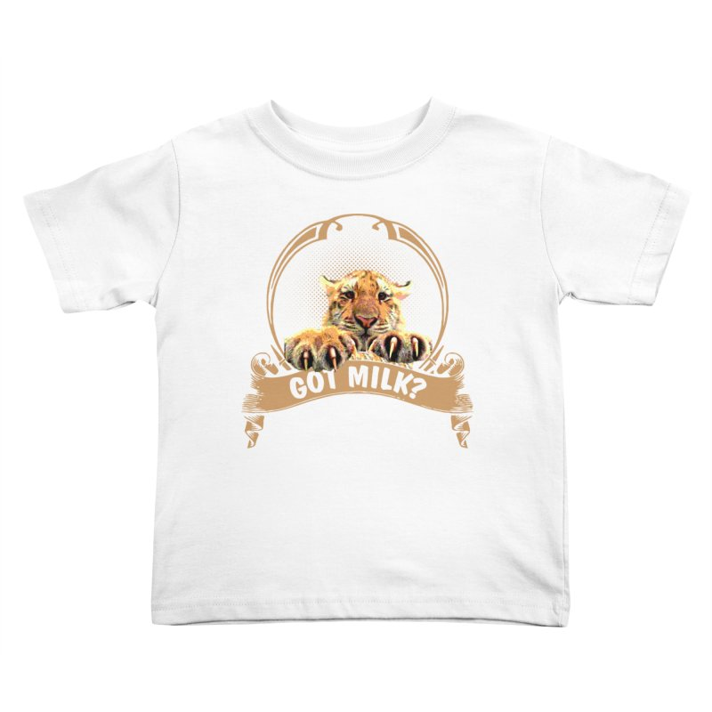 Got Milk Kids Toddler T-Shirt by Mini Moo Moo Clothing Company