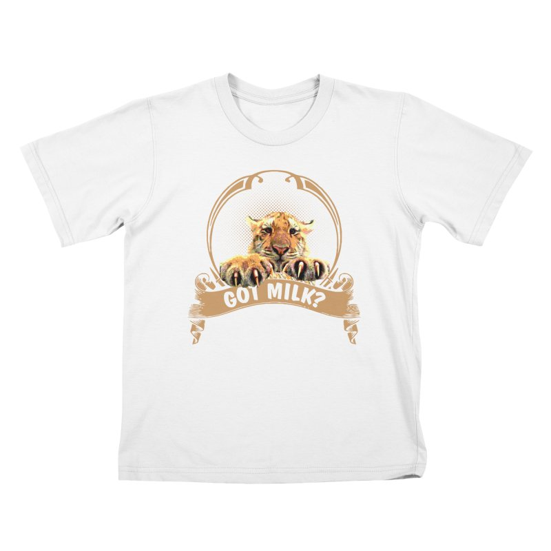 Got Milk Kids T-shirt by Mini Moo Moo Clothing Company