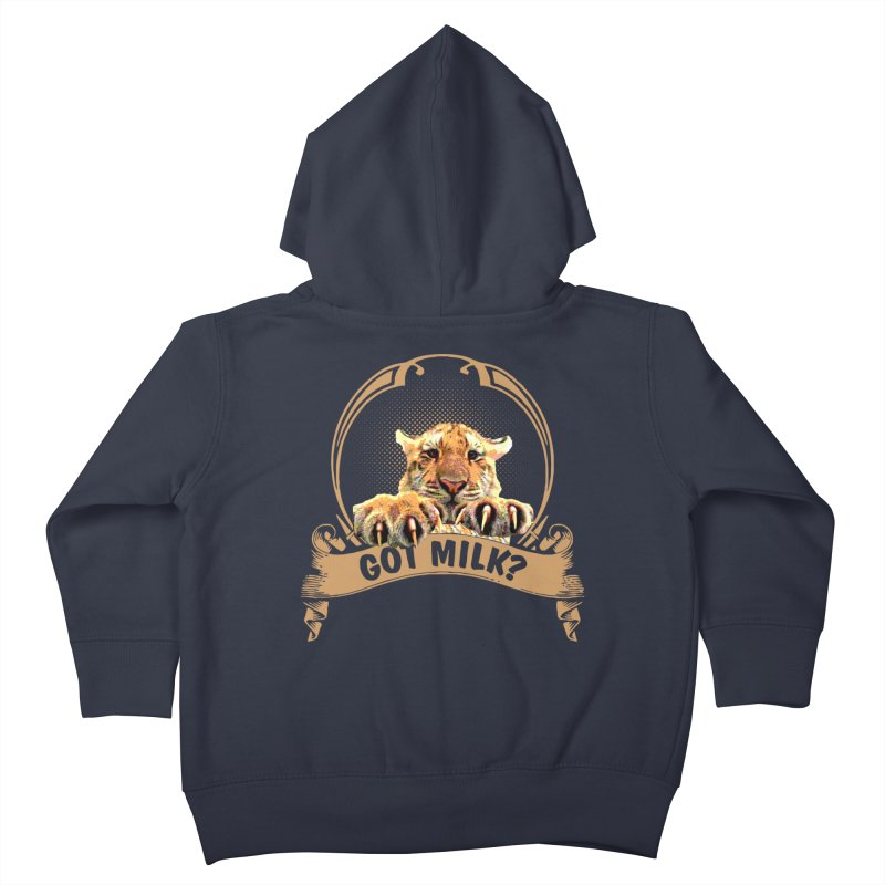 Got Milk Kids Toddler Zip-Up Hoody by Mini Moo Moo Clothing Company