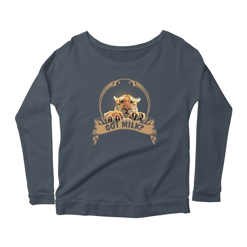 Got Milk Women's Longsleeve T-Shirt by Mini Moo Moo Clothing Company
