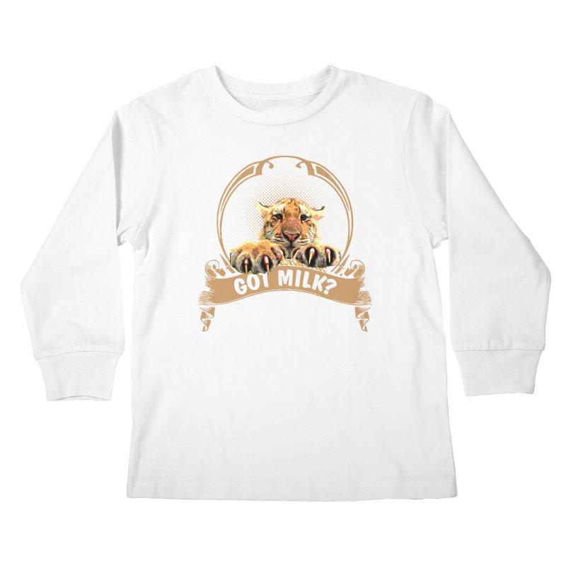 Got Milk Kids Longsleeve T-Shirt by Mini Moo Moo Clothing Company