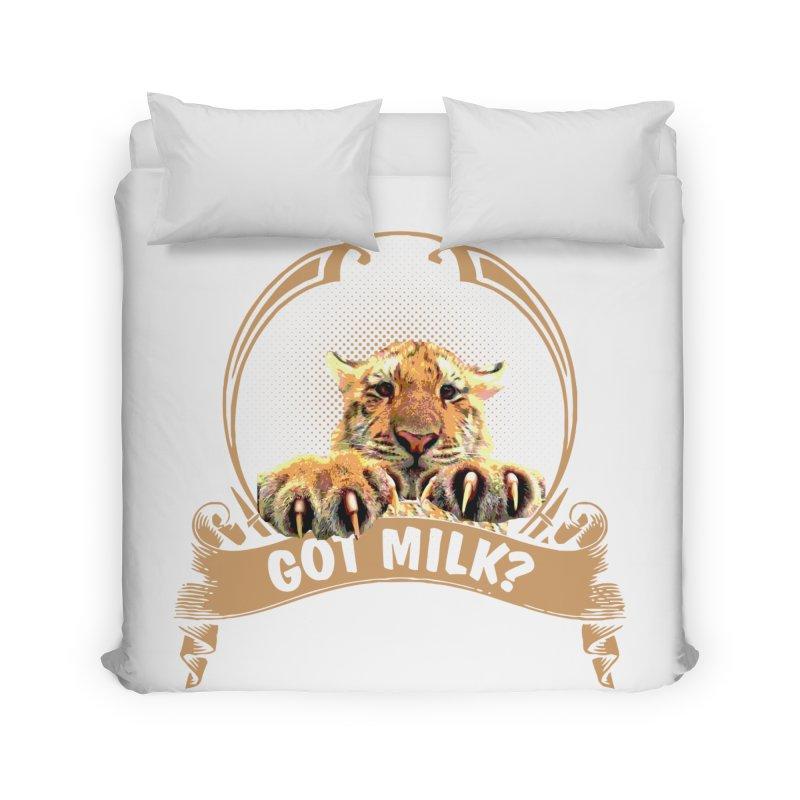 Got Milk Home Duvet by Mini Moo Moo Clothing Company