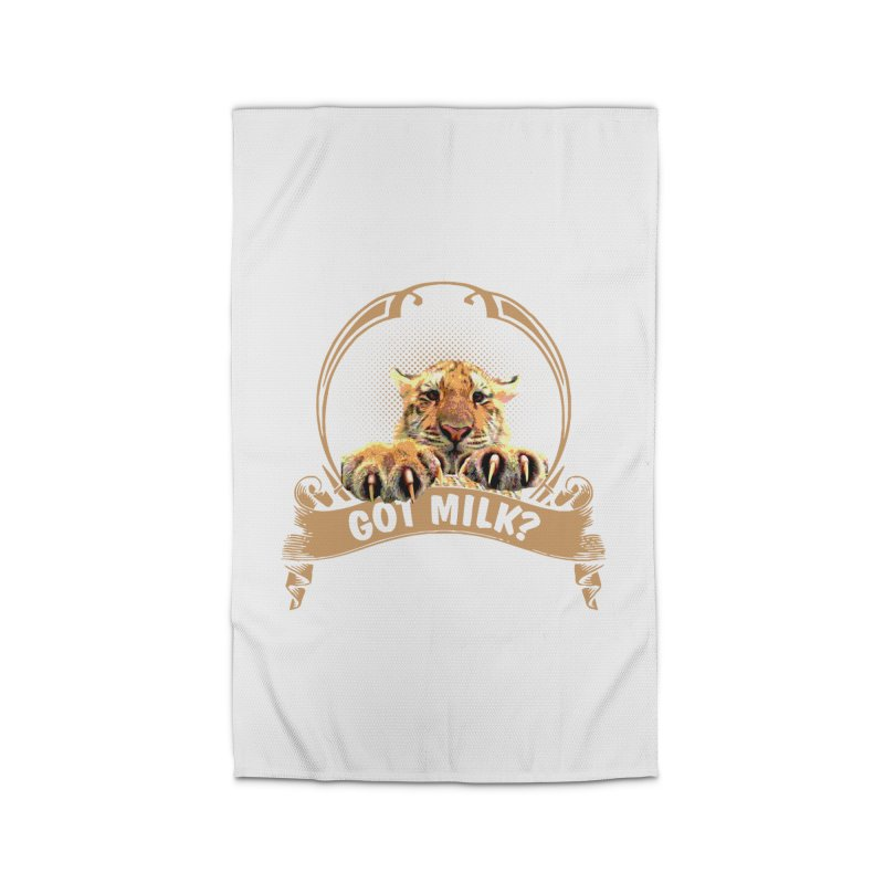 Got Milk Home Rug by Mini Moo Moo Clothing Company