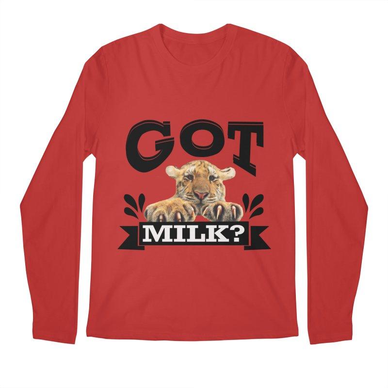 Got more Milk Men's Longsleeve T-Shirt by Mini Moo Moo Clothing Company
