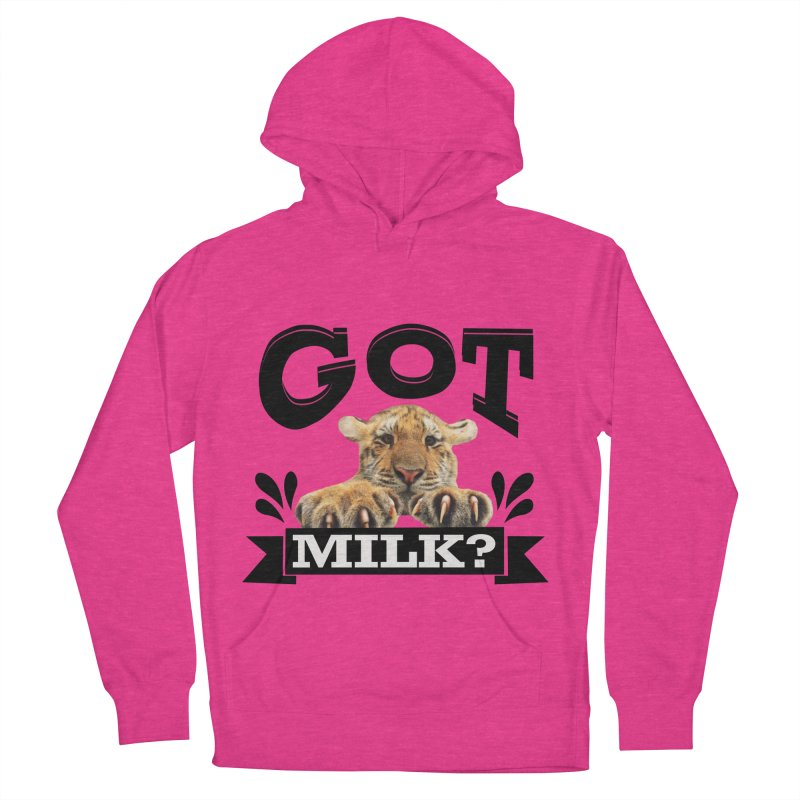 Got more Milk Women's French Terry Pullover Hoody by Mini Moo Moo Clothing Company