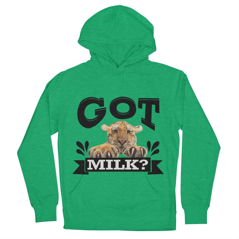 Got more Milk Men's Pullover Hoody by Mini Moo Moo Clothing Company