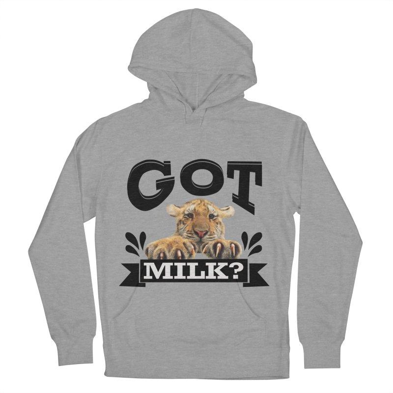 Got more Milk Men's Pullover Hoody by Mini Moo Moo Clothing Company