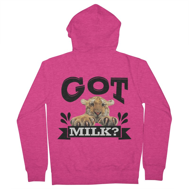 Got more Milk Women's French Terry Zip-Up Hoody by Mini Moo Moo Clothing Company