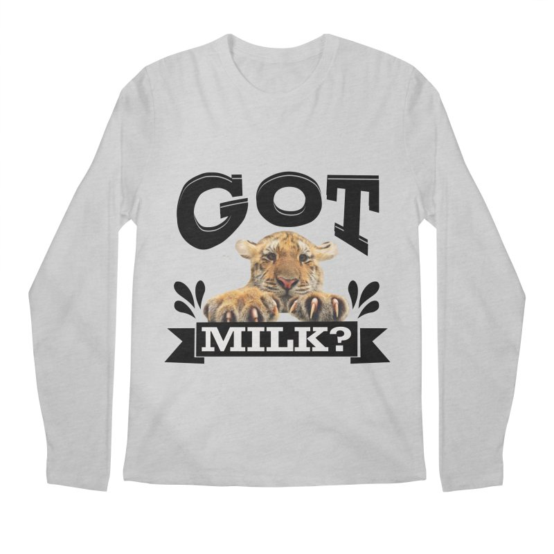 Got more Milk Men's Longsleeve T-Shirt by Mini Moo Moo Clothing Company