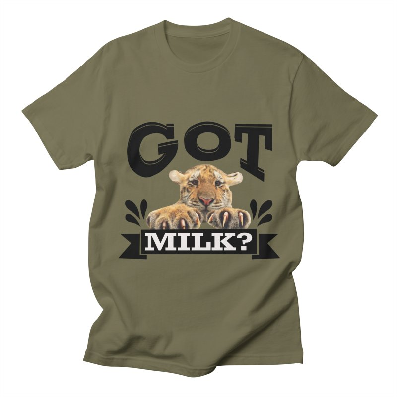 Got more Milk Men's T-Shirt by Mini Moo Moo Clothing Company