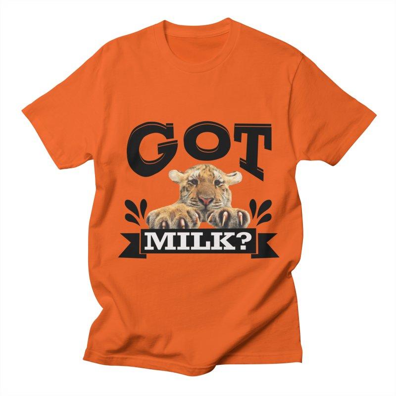 Got more Milk Men's T-Shirt by Mini Moo Moo Clothing Company