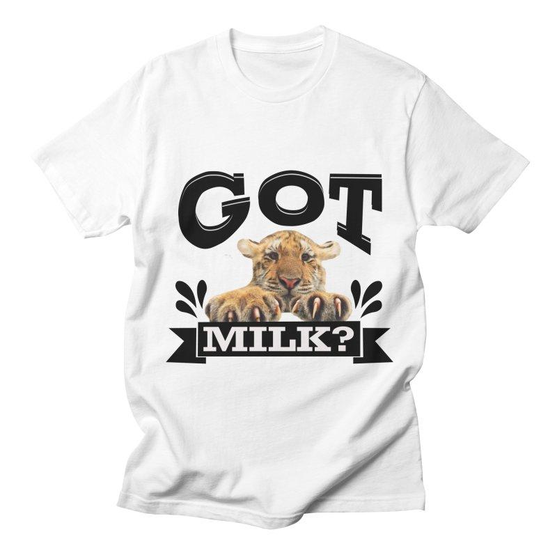 Got more Milk Women's Regular Unisex T-Shirt by Mini Moo Moo Clothing Company
