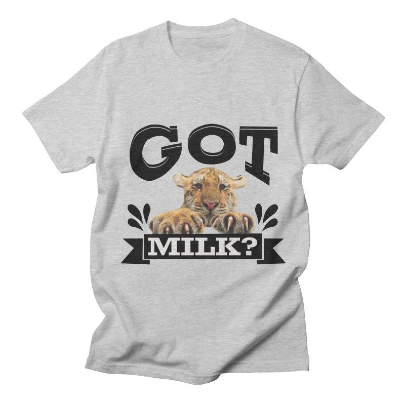 Got more Milk Men's Regular T-Shirt by Mini Moo Moo Clothing Company