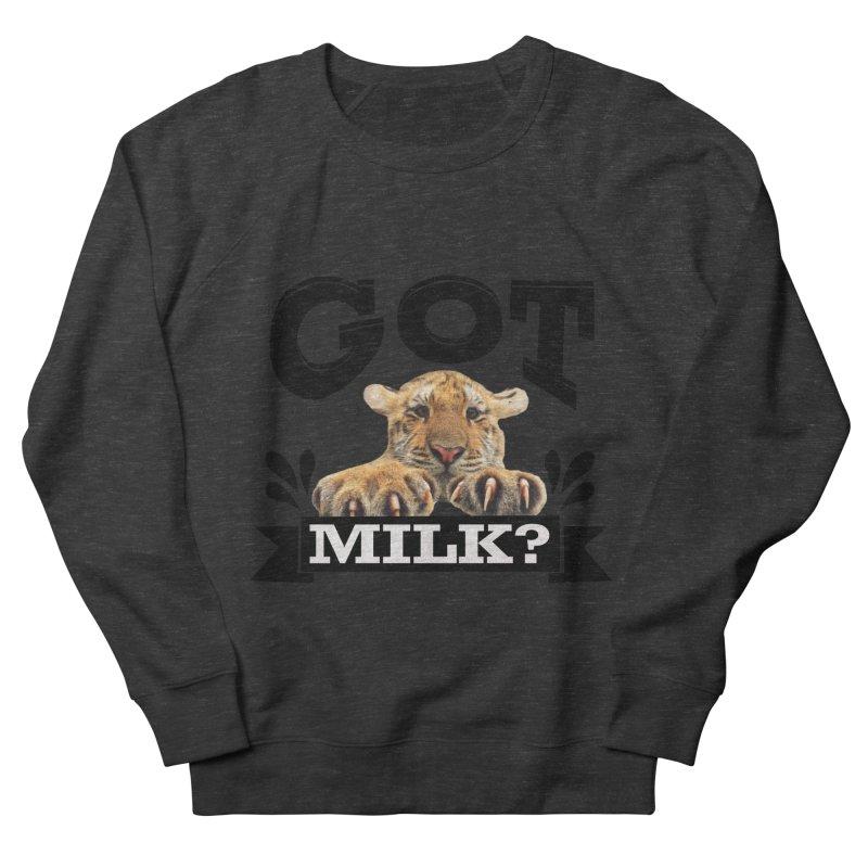 Got more Milk Women's French Terry Sweatshirt by Mini Moo Moo Clothing Company
