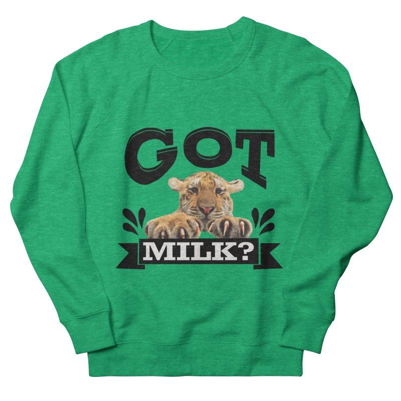Got more Milk Men's Sweatshirt by Mini Moo Moo Clothing Company