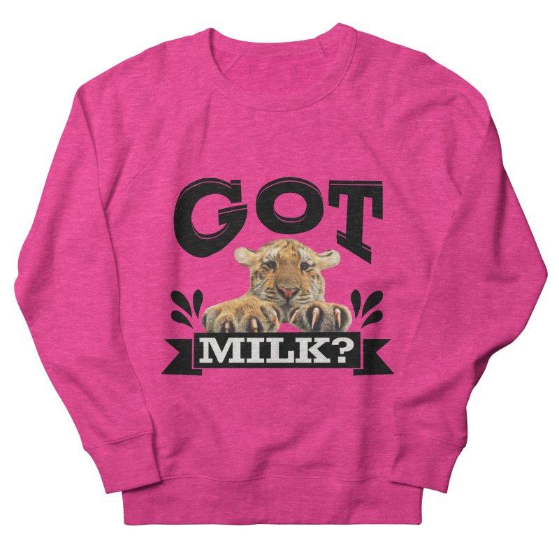 Got more Milk Men's French Terry Sweatshirt by Mini Moo Moo Clothing Company