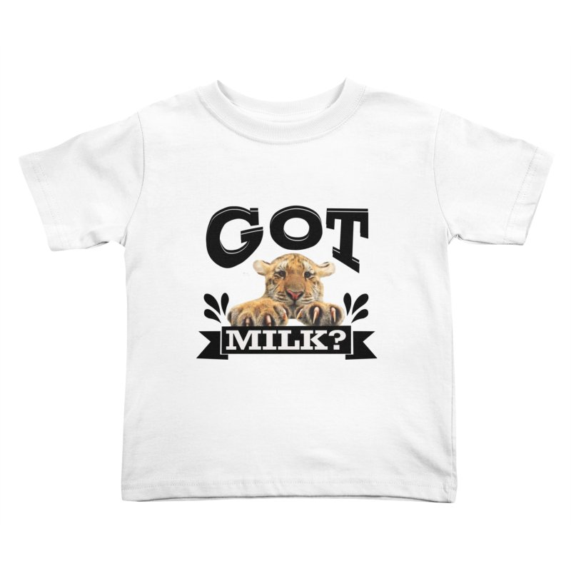 Got more Milk Kids Toddler T-Shirt by Mini Moo Moo Clothing Company