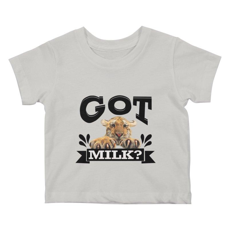 Got more Milk Kids Baby T-Shirt by Mini Moo Moo Clothing Company
