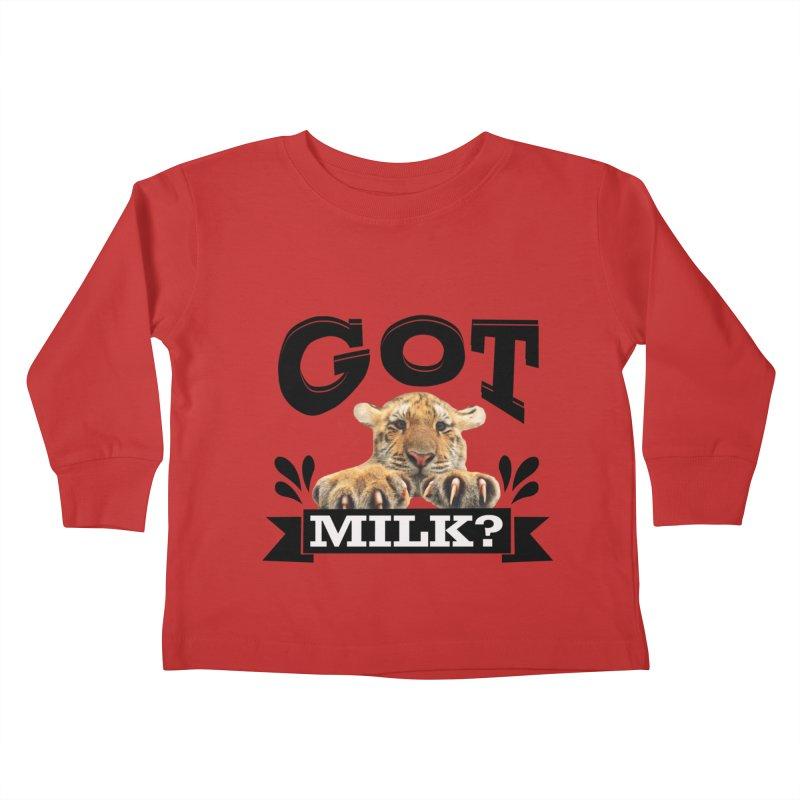Got more Milk Kids Toddler Longsleeve T-Shirt by Mini Moo Moo Clothing Company