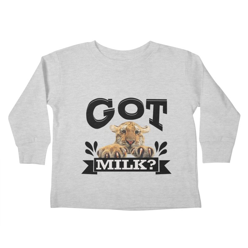 Got more Milk Kids Toddler Longsleeve T-Shirt by Mini Moo Moo Clothing Company