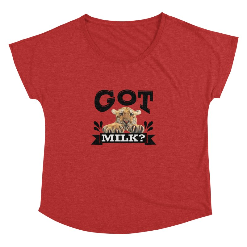 Got more Milk Women's Dolman by Mini Moo Moo Clothing Company