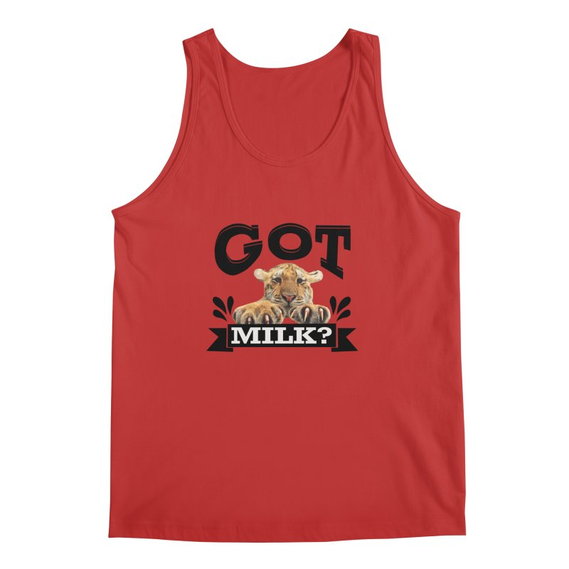 Got more Milk Men's Regular Tank by Mini Moo Moo Clothing Company