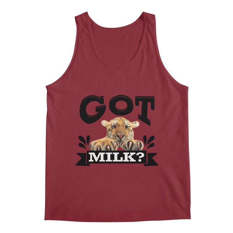 Got more Milk Men's Tank by Mini Moo Moo Clothing Company