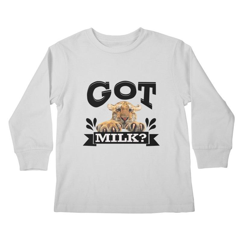 Got more Milk Kids Longsleeve T-Shirt by Mini Moo Moo Clothing Company