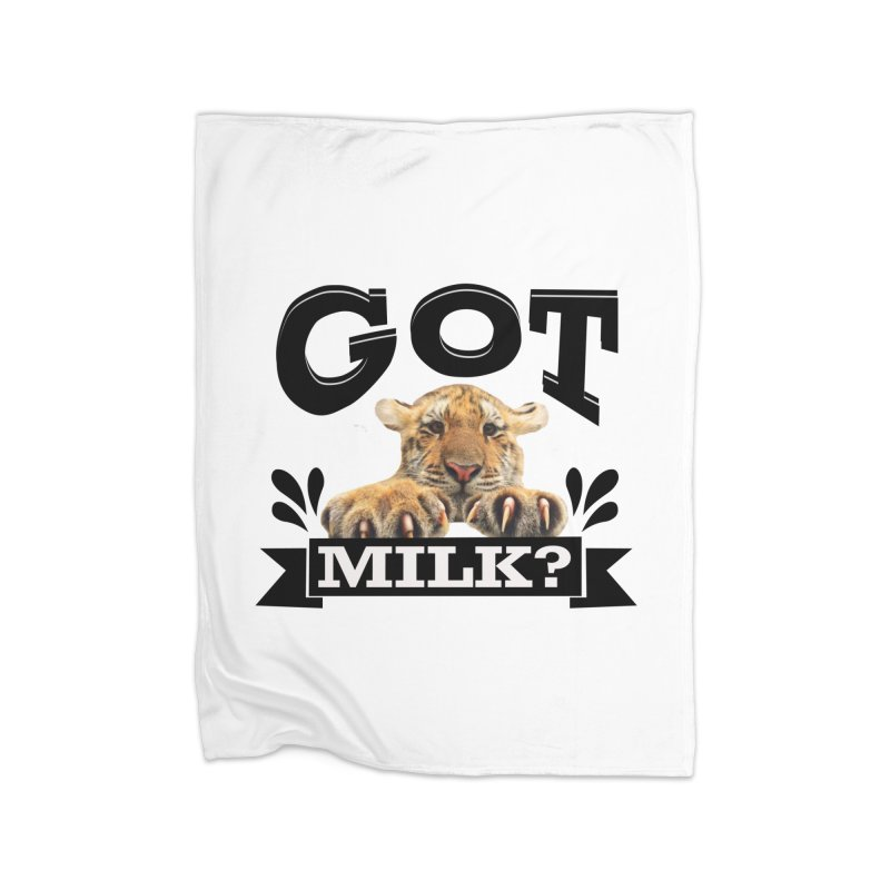 Got more Milk Home Blanket by Mini Moo Moo Clothing Company