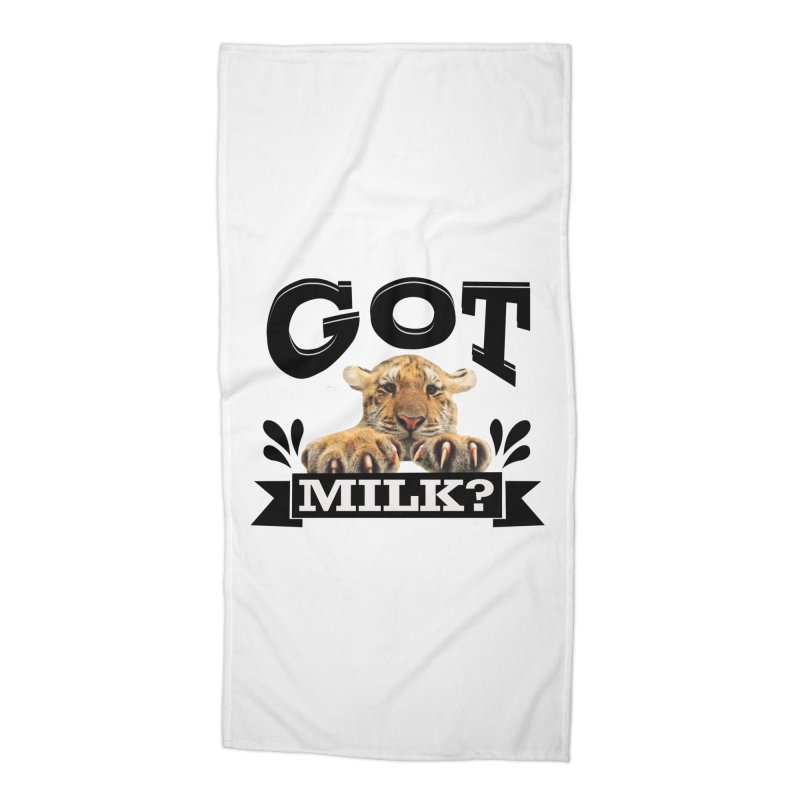 Got more Milk Accessories Beach Towel by Mini Moo Moo Clothing Company