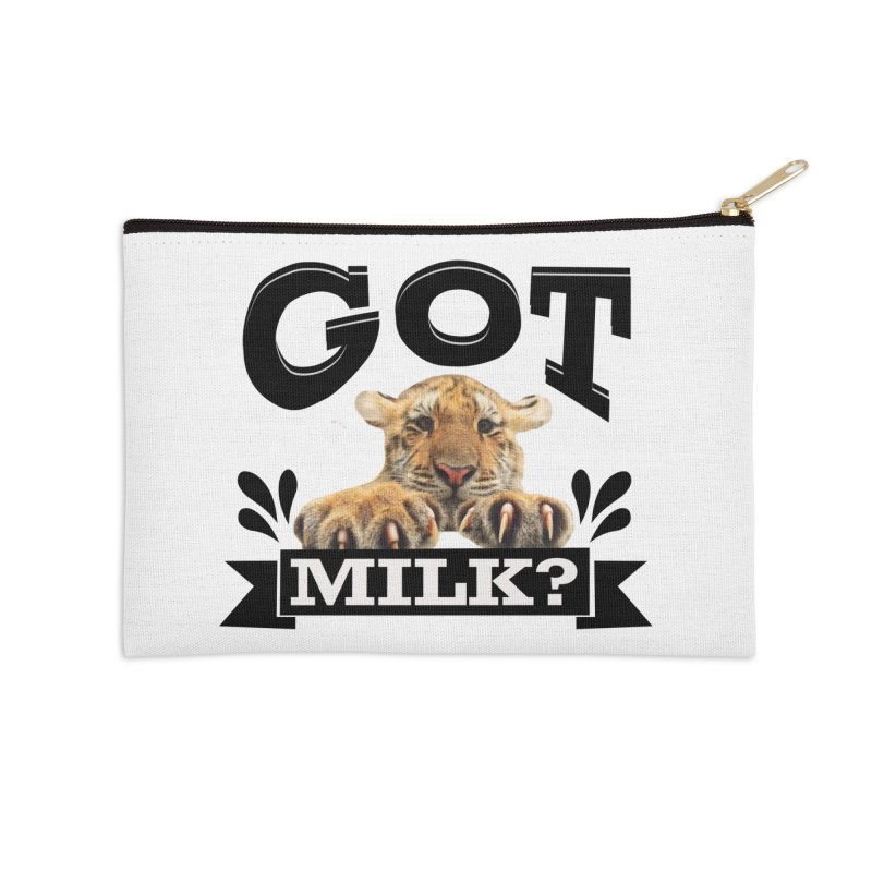 Got more Milk Accessories Zip Pouch by Mini Moo Moo Clothing Company