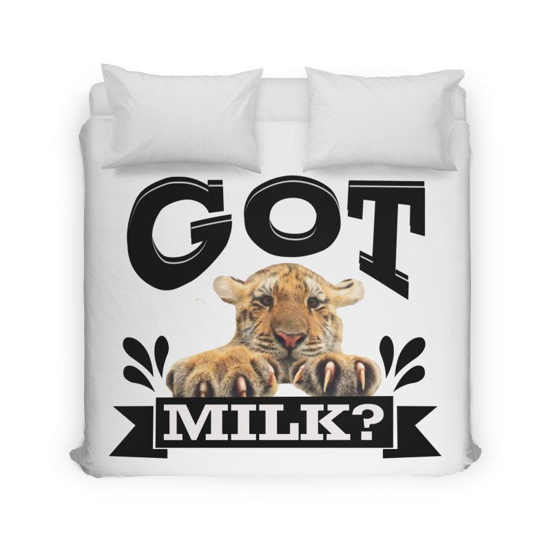 Got more Milk Home Duvet by Mini Moo Moo Clothing Company