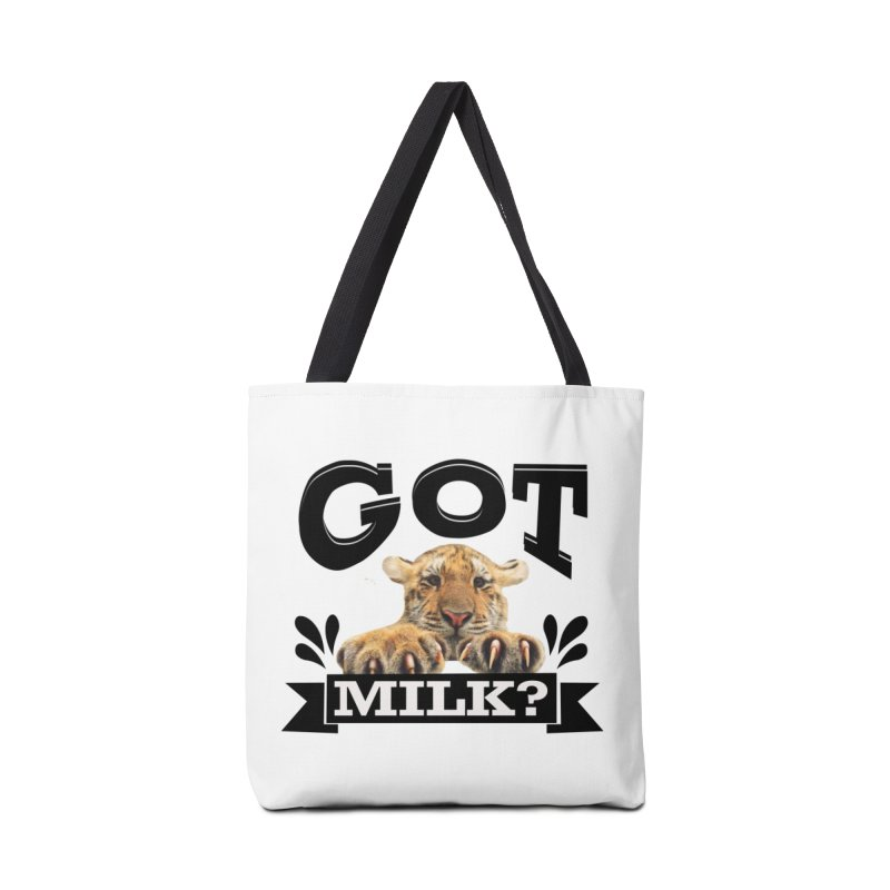 Got more Milk Accessories Tote Bag Bag by Mini Moo Moo Clothing Company