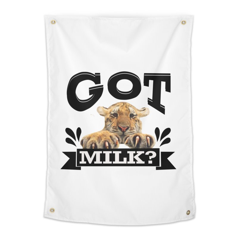 Got more Milk Home Tapestry by Mini Moo Moo Clothing Company